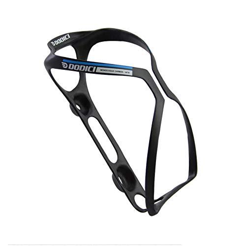 YYLI Porte Bidon Vélo,Fibre De Carbone Bouteille d'eau Léger Robuste Support Vélo Bouteille Rapide Et Facile À Installer pour Vélos De Route Montagne Et Enfants,Bleu
