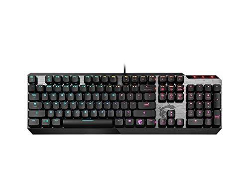 MSI Vigor GK50 Low Profile Gaming Keyboard schwarz