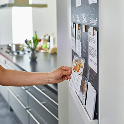 """75 Rezeptkarten """"Nov. 2020"""" für CookPins, wandhängender Essensplaner, Wochenplan Küche Kochen Essen Menü, Kochkarten, Kochrezepte, Essensplan Woche, Kochtafel, Rezeptbox, Was soll ich kochen?"""