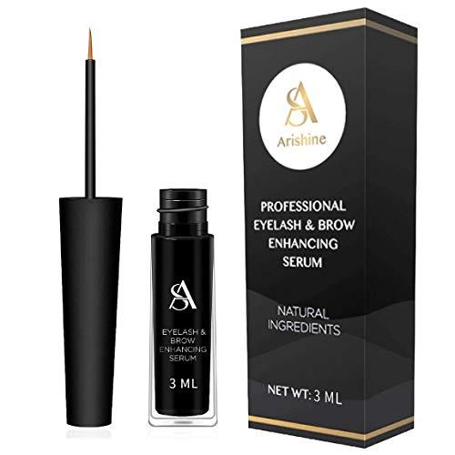 Eyelash & Eyebrow Growth Serum - natural Eyelash Growth Enhancer & Brow Serum