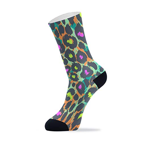 Calcetines deportivos largos para adultos Leopard 2010100 - - talla única