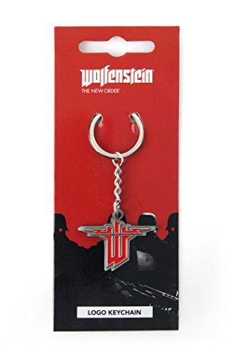 Wolfenstein Schlüsselanhänger Logo