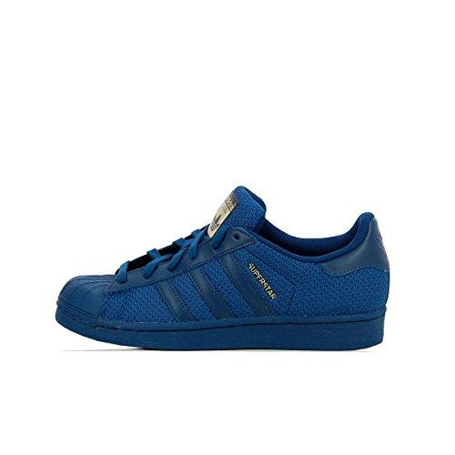 adidas Superstar J Leichtathletik-Schuh, Bianco Tecste Tecste Tecste, 36 EU