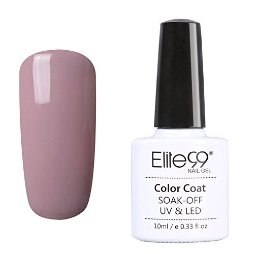 Elite99 Vernis A Ogles Semi Permanent Nude Color Serie Gel UV LED Nail Polish Manicure 10ml 019