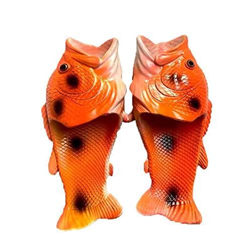 Xu Yuan Jia-Shop Divertidos Zapatillas de Peces creativos Unisex Zapatillas de Animales Zapatillas de Pescado Animal  Sandalias Casuales y Zapatillas Tamaño 36 a 47 (Color : Color 7, Shoe Size : 36)