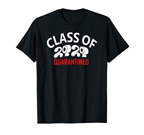 2020 Graduate Seniors Toilet Paper TP Funny Quarantined Tee T-Shirt