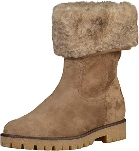 ara ANCHORAGE, Damen Hohe Stiefel, Braun (Teak 67), 40 EU (6.5 UK)