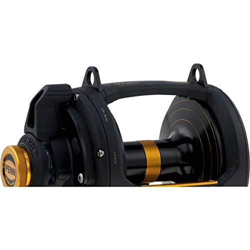 Penn Fishing Squall Lever Drag 2 Speed Reel, 50VSW 1292938