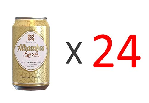 Bier Alhambra Especial 24x33cl (Pack 24 Dosen)