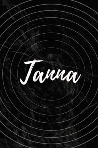 Tanna: Personalized Sketchbook with Name Tanna   Blank Writing Drawing Notebook