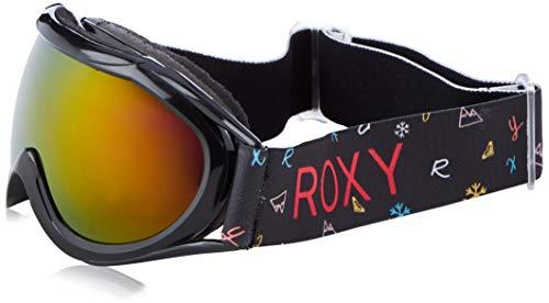 Roxy Loola 2.0-Snowboard/Esquí Máscara para Niñas, True Black Primary School, 1SZ