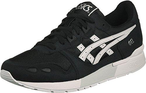 ASICS Mens Gel-Lyte Schwarz/Weiss Sneaker Low 38