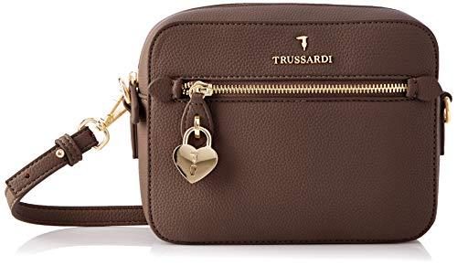 Trussardi Jeans Shoulder, Camera Case Grana Cervo Donna, B220, NR