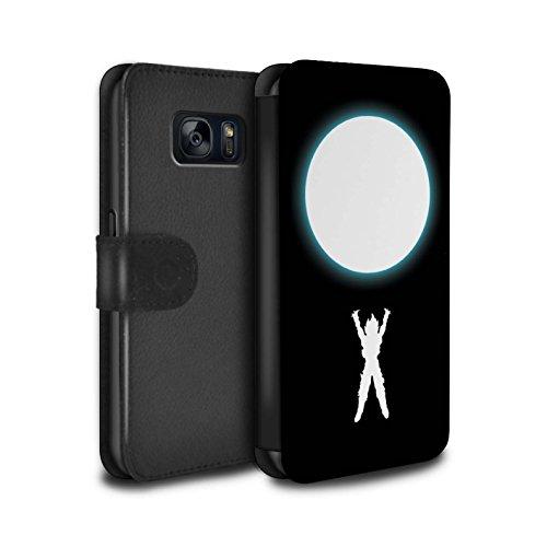 Hülle Für Samsung Galaxy S7/G930 Anime Kämpfer Geisterbombe Inspiriert Design PU Leder Tasche Brieftasche Schutz Handyhülle Flip Case