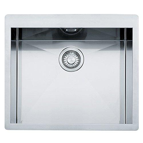 Franke 127.0203.469 - Fregadero de cocina (acero inoxidable), color gris