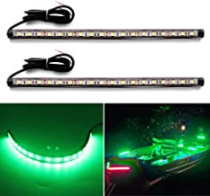 Botepon Led Navigation Lights, Boat Red and Green Bow Lights, Boat Stern Lights, Marine Led Lights, IP67 Waterproof for Pontoon Boat Dinghy Kayak Yacht Bass Boat