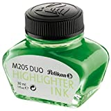 Pelikan 339580 Fluoreszierende Textmarker-Tinte für Füllhalter M 205 DUO, 30 ml, 1 Stück, grün