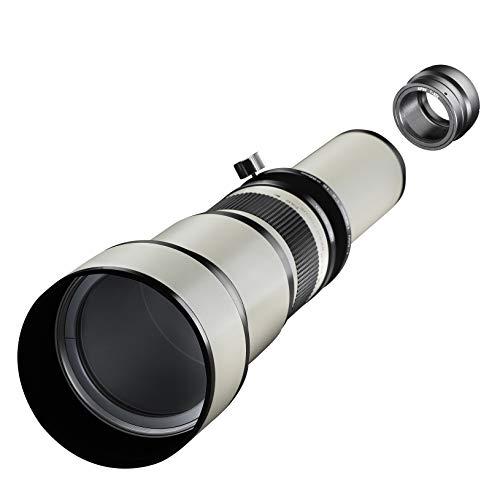 Samyang MF 650-1300mm F8.0-16.0 DSLR Sony EDSLR, CSC Zoom-Linsenobjektiv, Teleobjektiv, manueller Fokus, Filterdurchmesser 98 mm, für Vollformat und APS-C Sensor
