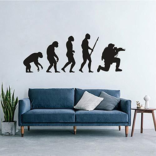 sanzangtang Soldier Evolution Wall Art Sticker Decoración