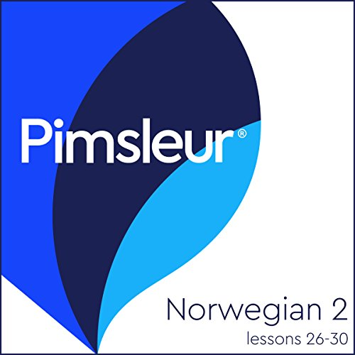Pimsleur Norwegian Level 2 Lessons 26-30 audiobook cover art