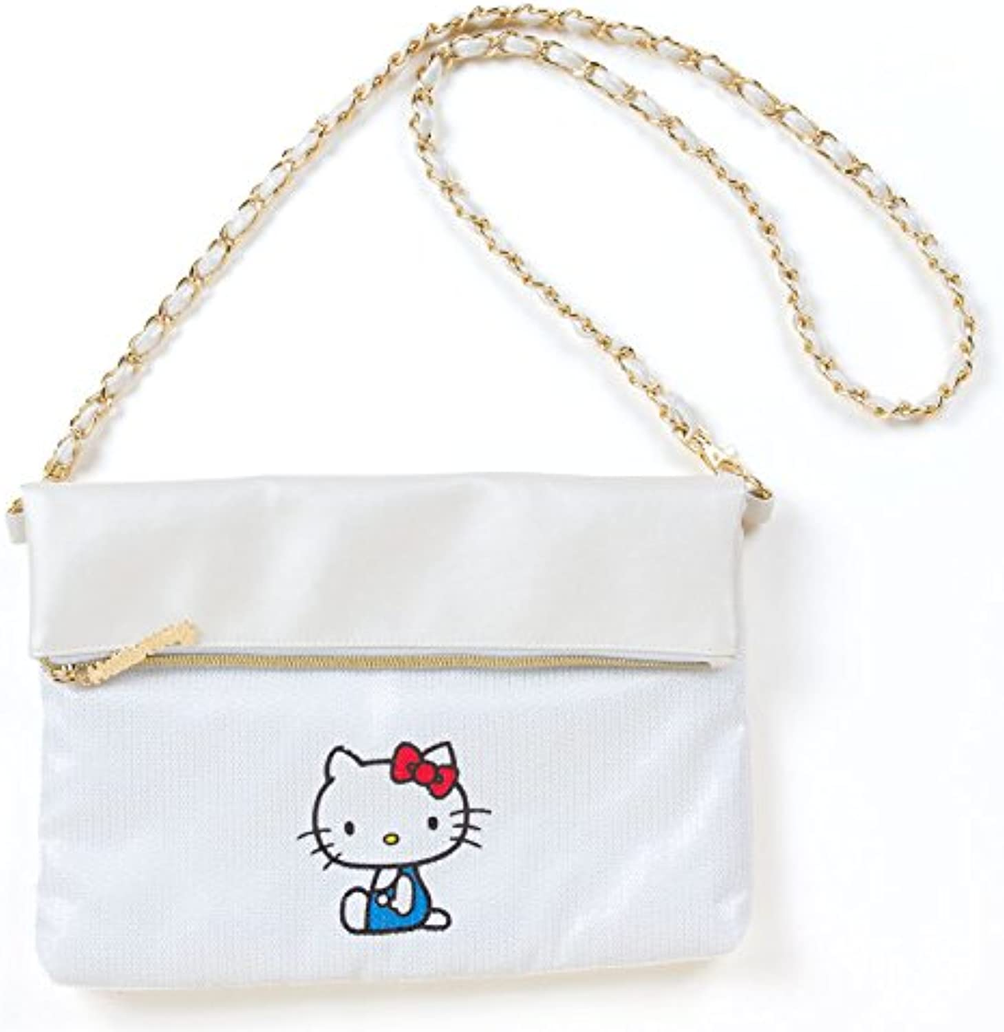 Hello Kitty clutch shoulder bag (simple design)
