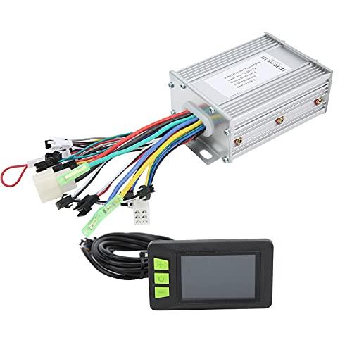 Dilwe Controlador sin escobillas de 24V-48V 450W con Juego de Pantalla de Estado de Pantalla a Color LCD 930 para Scooter eléctrico