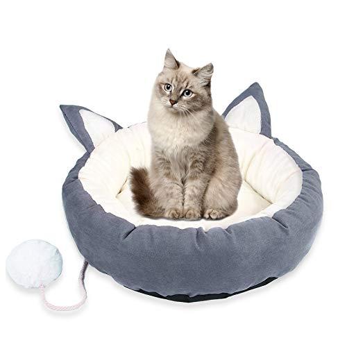 N-brand Nido para gatos sin olor, suave, antideslizante y antibacteriano, cama de galgo, adecuado para gatos grandes.