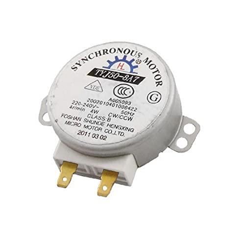 Runfon CA 220 a 240V 4W 4rpm Micro Motor síncrono de la Placa giratoria del Motor síncrono para Horno de microondas