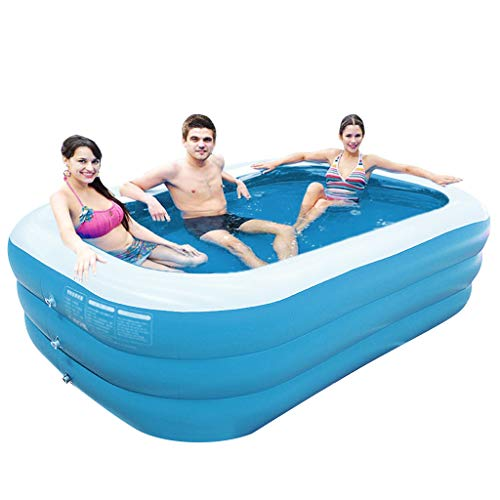E-SCENERY Children's Inflatable Pool Household Thickened Bathtub Ocean Ball Increase Swimming Pools Fishing with Multiple Sizes Optional