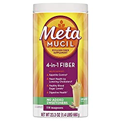 Metamucil Sugar Free Original Smooth Fiber Supplement