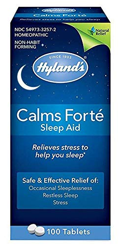 Hyland's 100 Count, Older Version, Packaging May Vary, Calms Forte, pack of 3