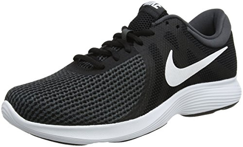 Nike Revolution 4, Herren Laufschuhe, Schwarz (Black/White/Anthracite 001), 42.5 EU (8 UK)