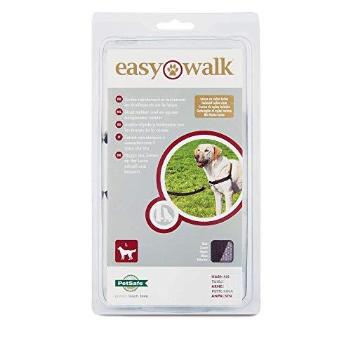 PetSafe Easy Walk Hundegeschirr L schwarz, 1,8  m Leine, kein Ziehen, Tragekomfort, für große Hunde