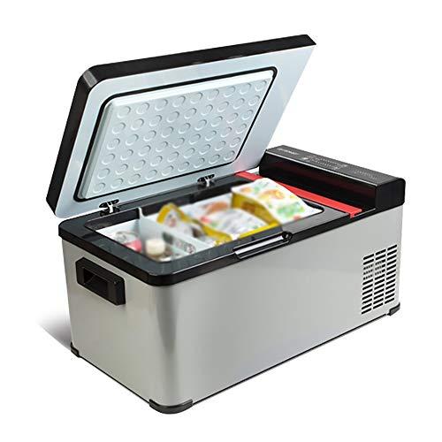 HDZ-ZWJ Mini refrigerador del refrigerador, refrigeración Potente, visualización en tiempo real digital, funcionamiento silencioso, enfriando rápidamente consume menos energía, conveniente for los coc