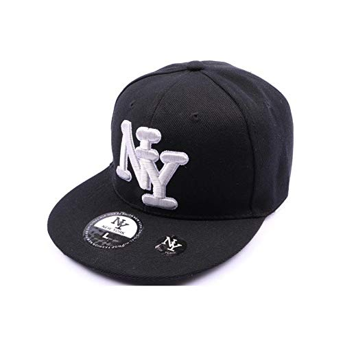 Hip Hop Honour - Casquette NY fitted Noir - L / 58-59