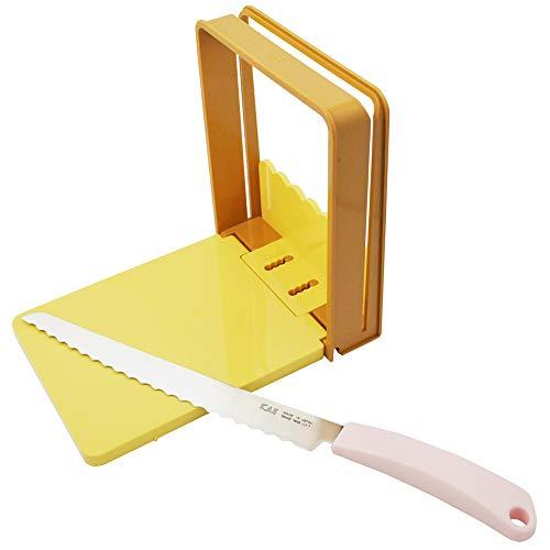 貝印 KAI パン切りナイフ&ガイドセット 日本製 AC0059