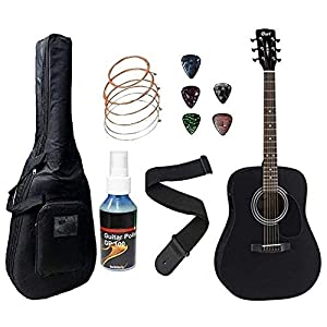 Cort AD810E Electro Acoustic Guitar Dreadnought With Padded Bag 1
