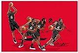 Adultos Puzzle 300 Piezas Niños Rompecabezas Baloncesto James Harden 15.7x11inch(40x28cm) Sin Marco