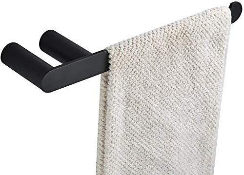 Toalla Rack Towel Bar Barra de baño Casa Toalla Anillo Doble Bases Acero Inoxidable Pesado Montado para Cocina Ducha Soporte de Papel higiénico (Color : Towel Ring)