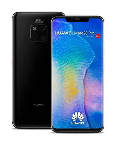 Huawei Mate 20 Pro 128GB Handy, Android 9.0 (Pie), Dual SIM, schwarz (West European Version) - 4