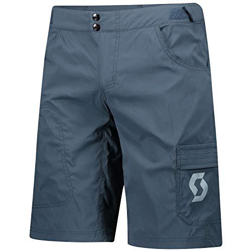 Scott Trail Flow Fahrrad Short Hose kurz (Inkl. Innenhose) blau 2020: Größe: XL (52/54)