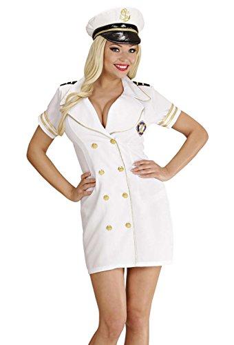 WIDMANN LIBROLANDIA Disfraz de capitán de barco para mujer, talla XL (S/7666C)