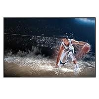 キャンバスプリントNBAプレーヤーレジェンドヒーローズバスケットボールピクチャーキャンバスペインティングウォールアートインテリアリビングルームとファンのギフト、HD作品ポスター、ファブリックキャンバス、フレームレス,40×60cm