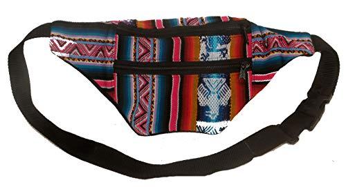 Terrapin Trading Fair Trade Peruvian Funky Hippy Bumbag/Mappe/Geldbeutel/Hüfttasche (Stammes-493)