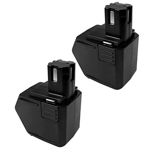 2x Trade-Shop Premium Ni-Mh Akku, 12V / 3300mAh für Hilti SBP12 SFB125 SFB105 00315082 SBP-12 SFB-125 SFB-105 0031-5082 ersetzt SB12 SF120-A Hilti SB-12 SF-120-A Battery Accu
