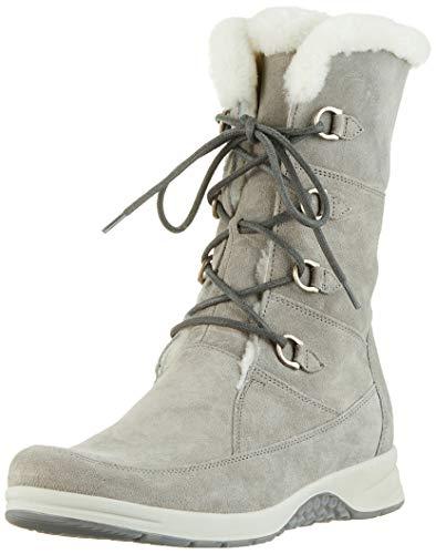 Ganter GLORIA-STIEFFL-G, Damen Hohe Stiefel, Grau (Stone 68000), 38.5 EU (5.5 UK)