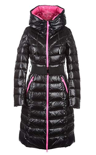 MISS SUN Damenmantel Daunenmantel mit Kapuze Winter Jacke Outdoor M701 (34)