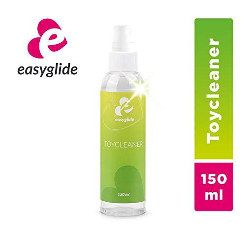EasyGlide Reinigungsspray Sexspielzeug Reiniger und Reinigungsmittel, zur hygienischen Reinigung von Sex Toys, geruchsneutralisierend, Toy Cleaner ohne Alkohol & Biozide, 150 ml