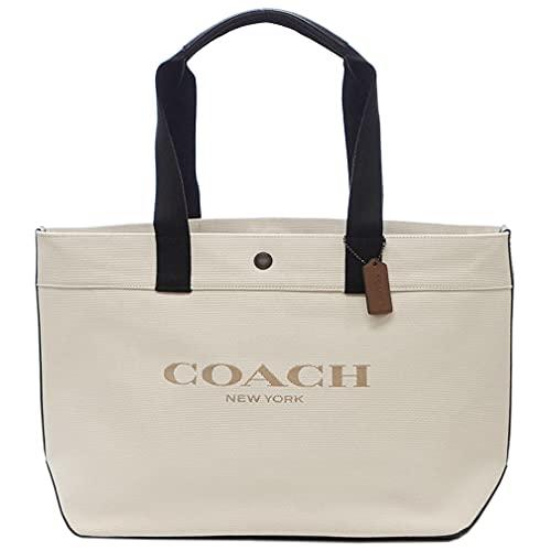 コーチ バッグ C4017-QBCHK COACH メンズ トートバッグ トート 38 ウィズ コーチ キャンバス/リファインド カーフ レザー チョーク アウトレット