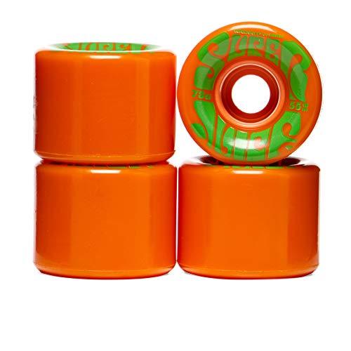 OJ III Skateboard Cruiser Wheels Mini Super Juice Orange 55mm 78A